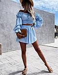 Костюм жіночий річний гарний з шортами Оверсайз, фото 7