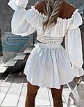 Костюм жіночий річний гарний з шортами Оверсайз, фото 3