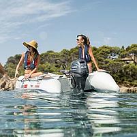 Двигун для човна Yamaha FT9.9LMHX - підвісний двигун для яхт і рибальських човнів, фото 3