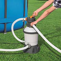 Песочный фильтр насос Bestway 2006 литров /час Фильтрационная установка для бассейна
