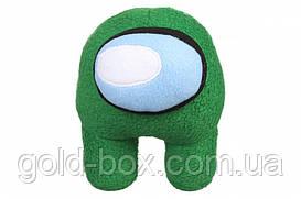 "Мягкая игрушка ""Among Us"" зеленая"
