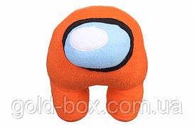 """Мягкая игрушка """"Among Us"""" оранжевая"""