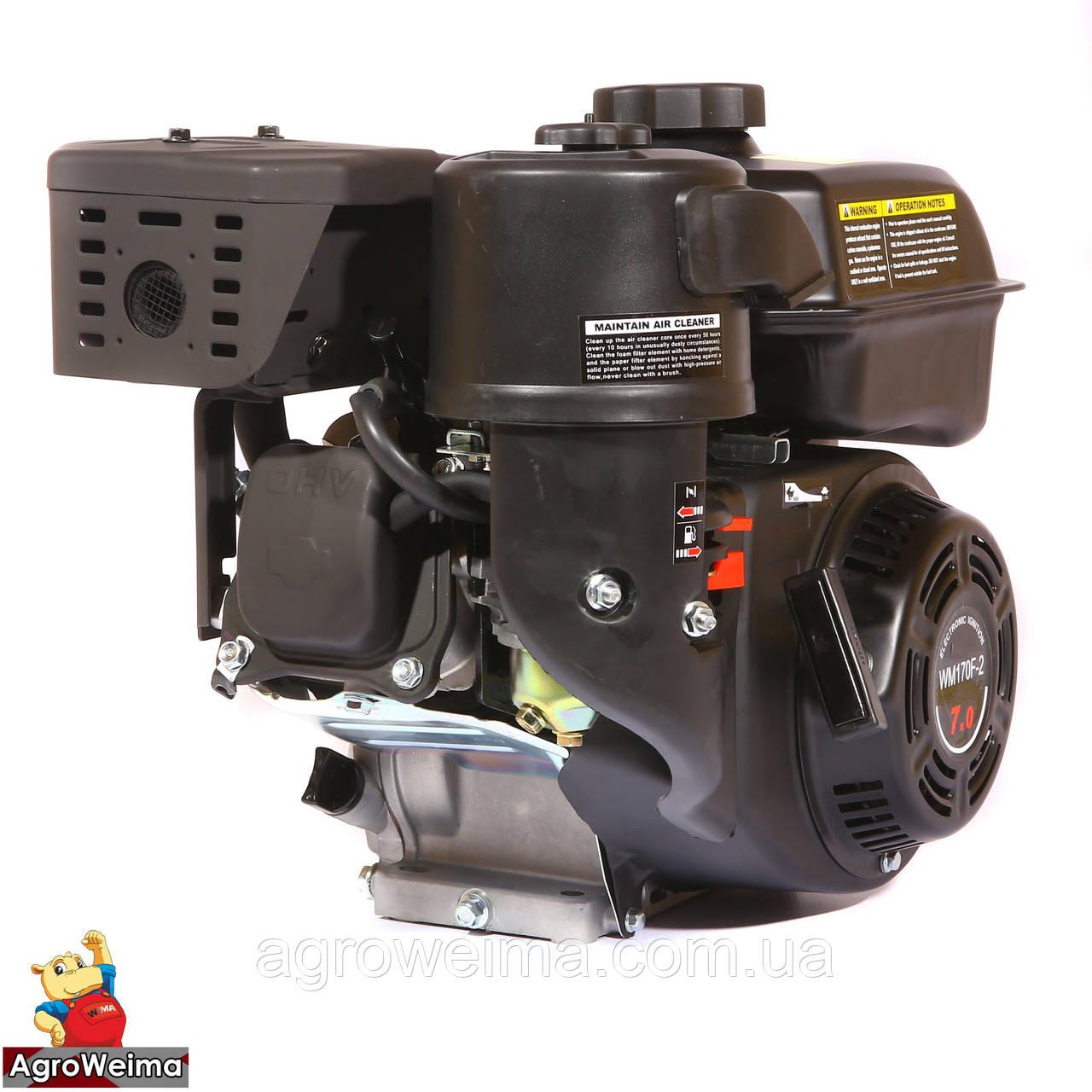 Двигун WEIMA WM170F-1050(R) NEW (для WM1050 Favorit, 1800об/м), бенз 7.0 л. с.
