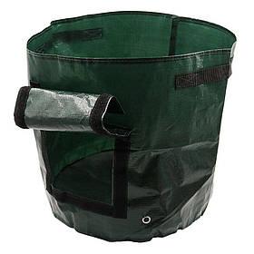 Плантатор - мешок для выращивания овощей в домашних условиях универсальный, Зеленый