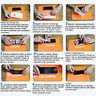 Гидрогелевая защитная пленка Recci для задней панели Samsung Galaxy A30s, фото 4