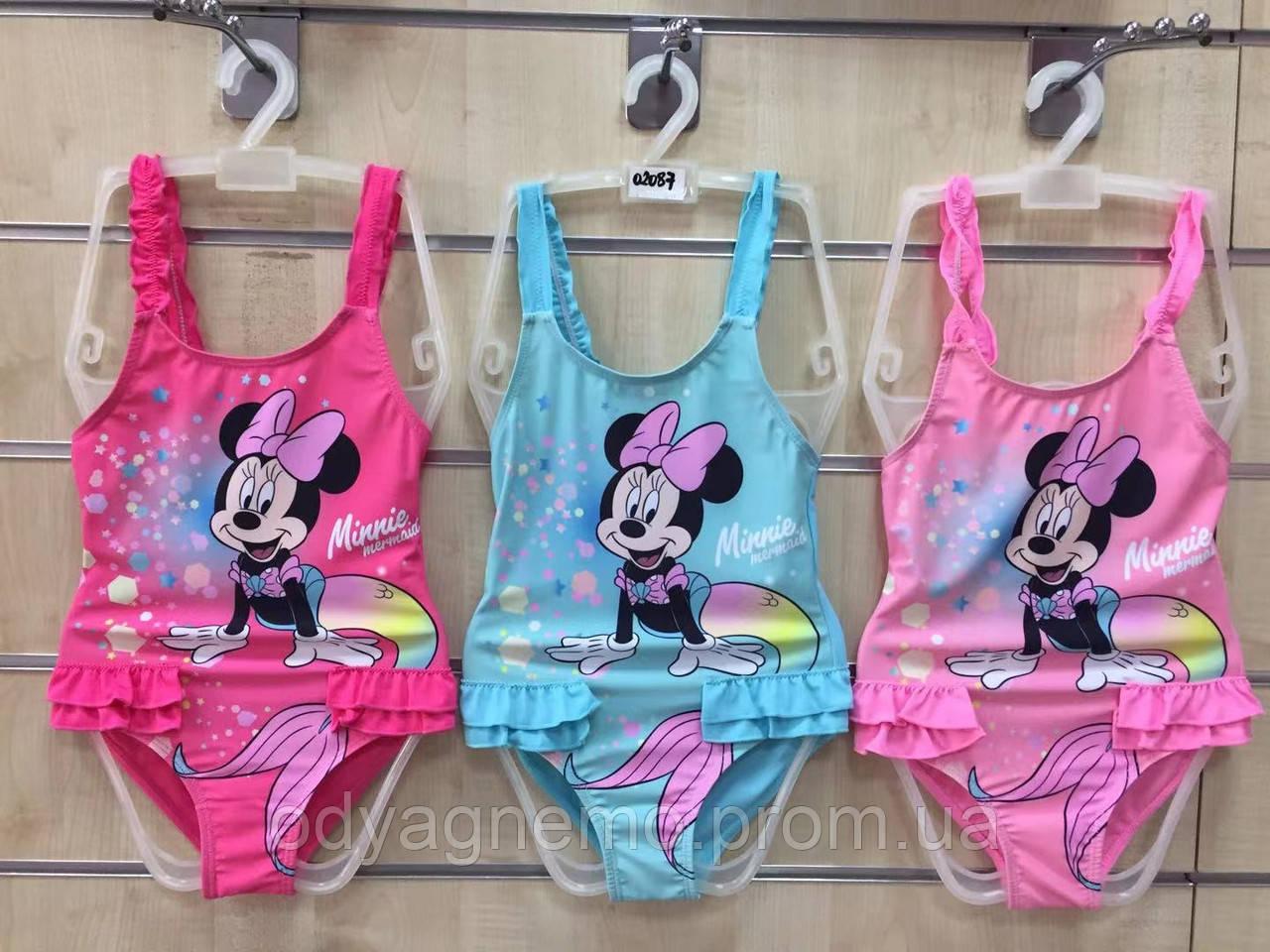 Купальник для дівчаток Disney, 3-8 років. Артикул: 02087