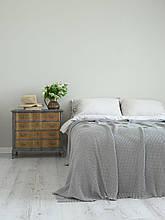 Покривало 220x240 BETIRES cotton deniz beige grey (100% бавовна) бежево-сірий