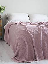 Покривало 220x240 BETIRES cotton deniz powder (100% бавовна) рожеве