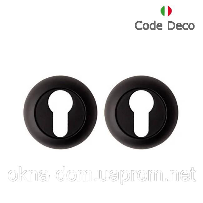Накладка циліндрова Code Deco DP-C-14-BLM