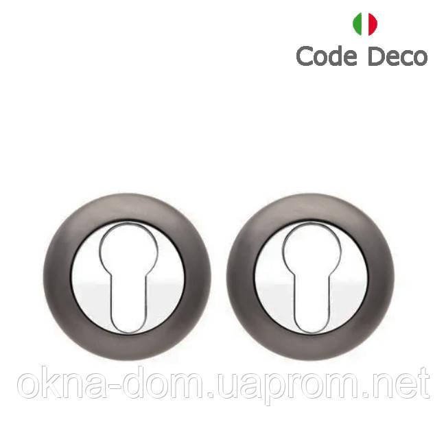 Накладка циліндрова Code Deco DP-C-14-GRF