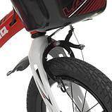 Велосипед дитячий WLN1450D-3N Hunter, червоний, фото 3