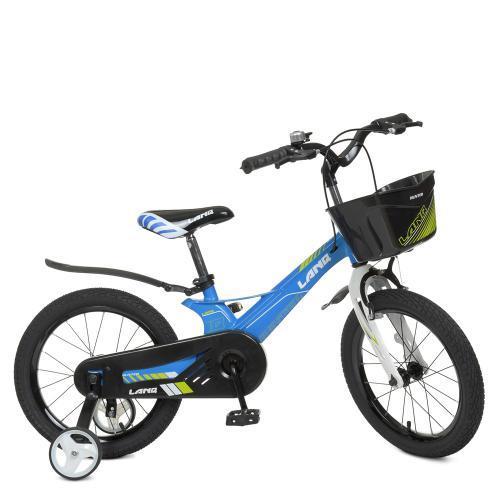 Велосипед дитячий WLN1650D-1N Hunter блакитний
