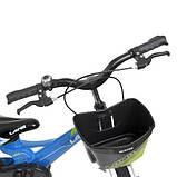 Велосипед дитячий WLN1650D-1N Hunter блакитний, фото 3