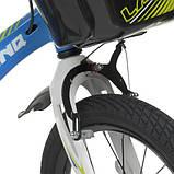 Велосипед дитячий WLN1650D-1N Hunter блакитний, фото 4