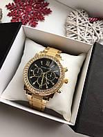 Женские наручные часы Michael Kors золотого цвета, фото 1