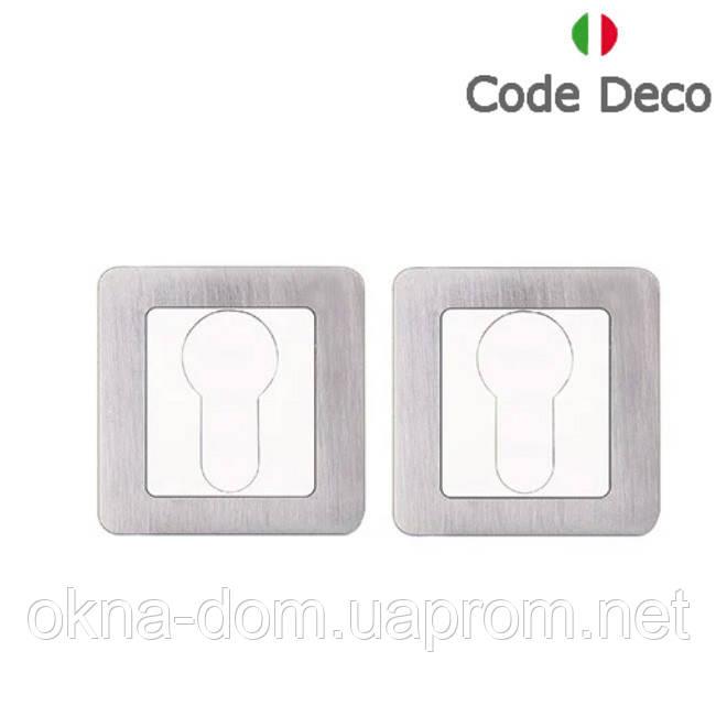 Накладка циліндрова Code Deco DP-C-22-CRM/CR