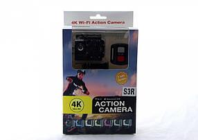 DVR SPORT Экшн камера с пультом S3R remote Wi Fi waterprof 4K