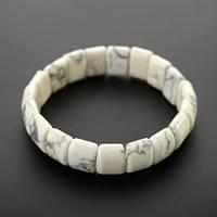 Браслет из камня Кахолонг