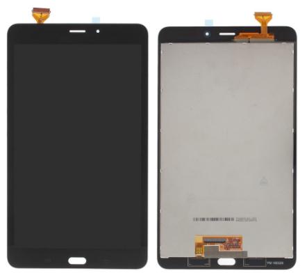 Дисплей (екран) для планшета Samsung T580 2016 версія Wi-Fi з сенсором (тачскрін) чорний Оригінал