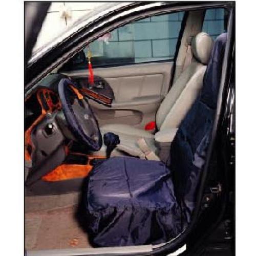 Комплект нейлоновых чехлов на  автомобильное сидение, руль и КПП  TJG E4156