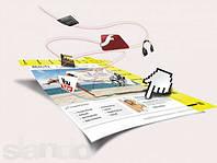 Создание сайта визитки для Вас. Домены (.Com,.org,.NET)БЕСПЛАТНО