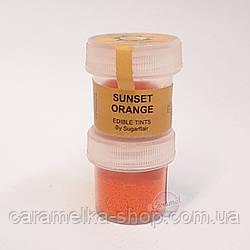 Краситель цветочная пыльца Оранжевый закат