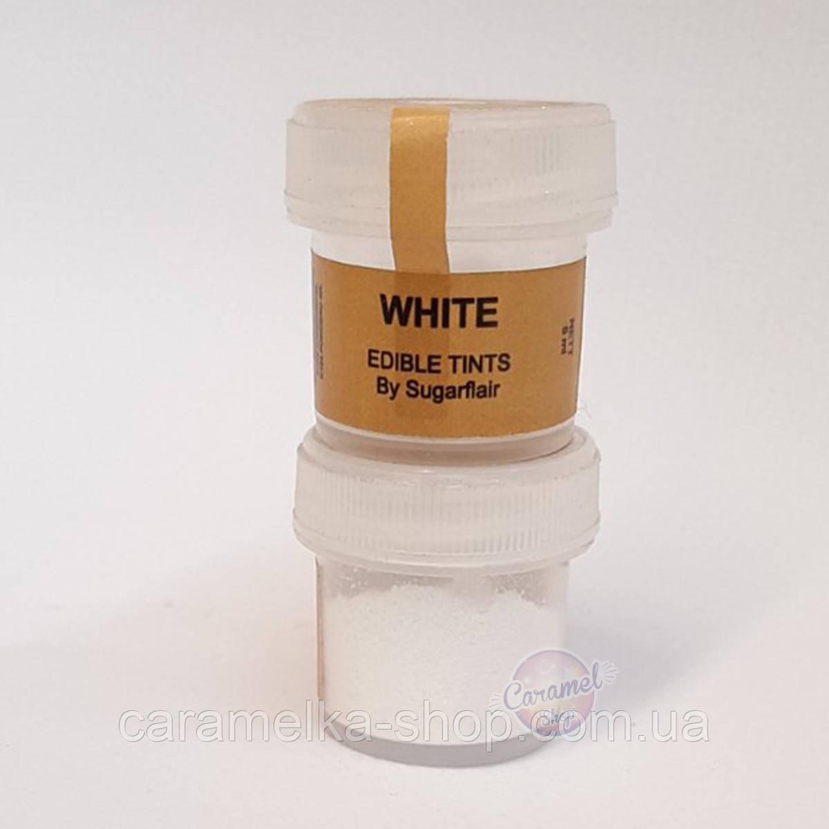 Краситель цветочная пыльца Белая