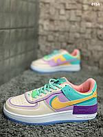 Кеды/кроссовки Nike Air Force разноцветные, кеды/кроссовки на весну, лето, осень