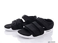 Босоножки Adidas Adilette Sandals мужские, черно-белые, лето