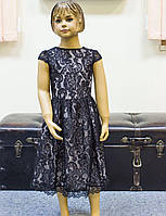 Ошатне дитяче гіпюрове плаття для дівчинки р. 110-128,
