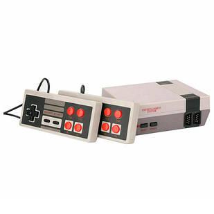 Игровая приставка консоль Dendy NES 8бит AV-выход 620игр 2 геймпада
