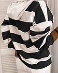Женский свитшот, турецкая двунить, р-р С-М; М-Л (чёрный), фото 2