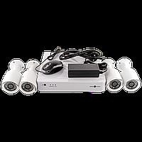 Комплект відеоспостереження GreenVision GV-IP-K-S31/04 1080P