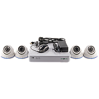 Комплект видеонаблюдения GreenVision GV-IP-K-S30/04 1080P