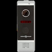 Виклична панель відеодомофона. GREEN VISION GV-002-J-PV80-110 silver