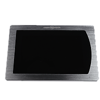 Цветной Сенсорный AHD видеодомофон Green Vision GV-056-AHD-J-VD7SD silver
