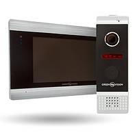 Комплект відеодомофона GV-052 + Виклична панель GV-002, фото 1