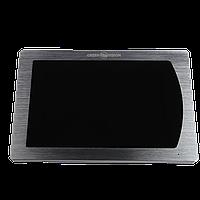 БУ Цветной сенсорный AHD видеодомофон GreenVision GV-056-AHD-J-VD7SD Silver