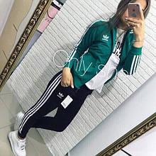 Женский спортивный костюм, дайвинг, р-р С-М; М-Л (зелёный)