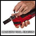 Багатофункціональний інструмент (реноватор) акумуляторний Einhell TC-MG 18Li Solo, фото 3
