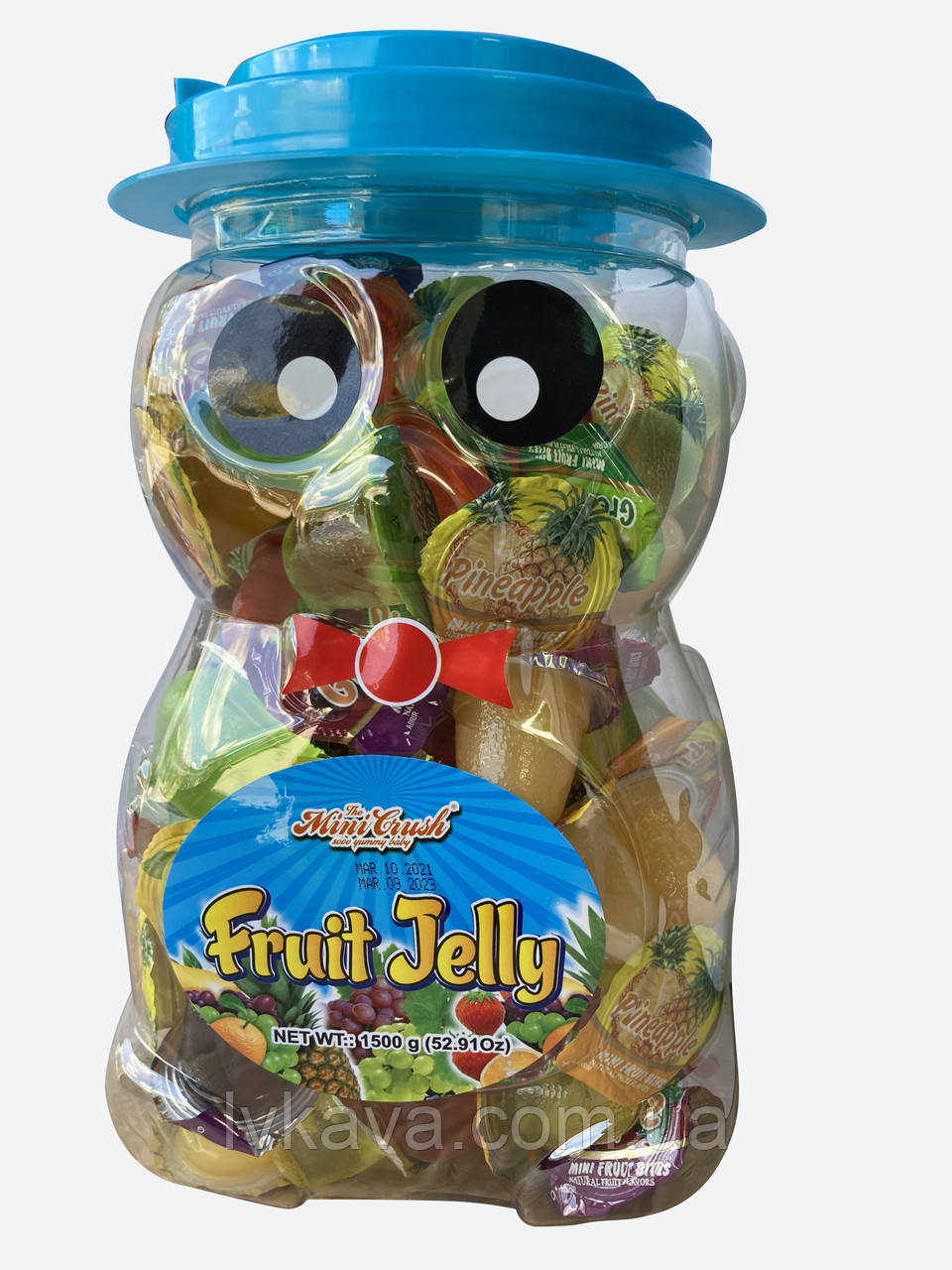 Фруктовое желе  Fruit Jelly  Медвежонок  Prestige , 100 шт