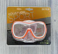 Маска для плавания 55978 (12) 8+ Под слюдой 55978 Intex
