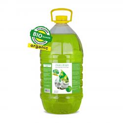 """Гель для мытья посуды """"Зеленое яблоко"""" (бутыль 5л)"""