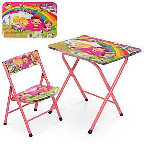 Столик A19-ABC стіл 40*60см, 1 стільчик, в кор-ке, діти
