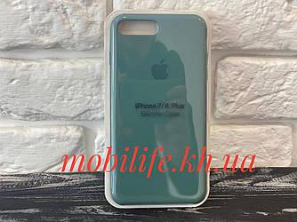 Silicon Case Original Apple iPhone 7Plus,8Plus/Pine Green/Высокое Качество/