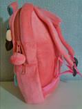 М'який плюшевий дитячий рюкзак pretty girl, фото 2