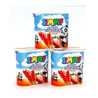 Соломка Jimmy с шоколадным кремом вкусом клубники в упаковке TM Tayas