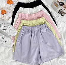 Жіночі шорти, джинс - бенгалин, р-р 42-44; 44-46 (вибір кольору)