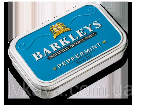 Льодяники Barkleys Classic mints зі смаком м'яти перцевої , з\б , 50 гр