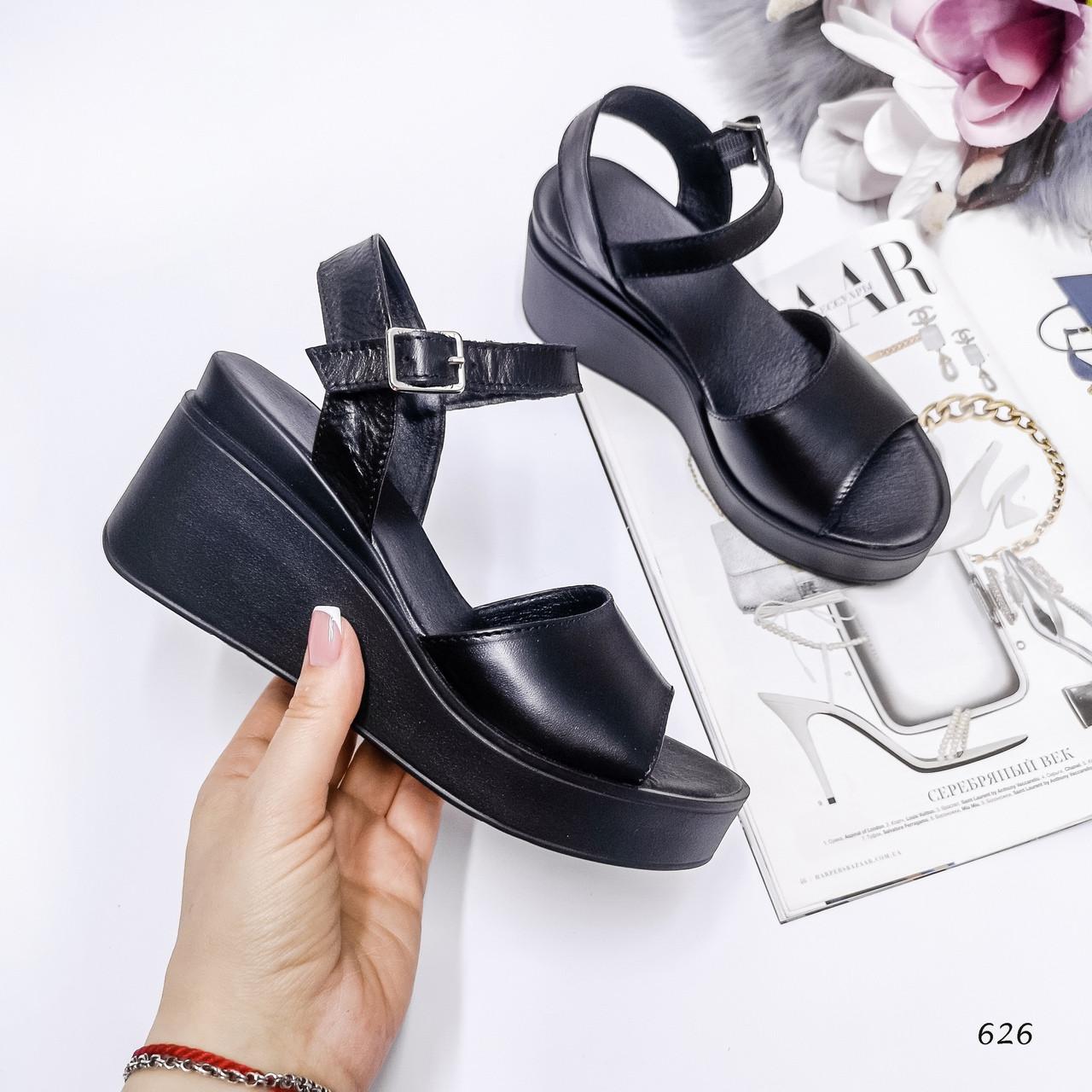 Женские босоножки Цвет - black Материал -Нат.кожа 38 размеры